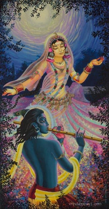 Radharani krishna dance