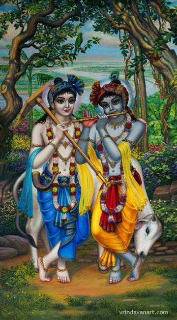 Krishna Balaram Gallery Vrindavan Art