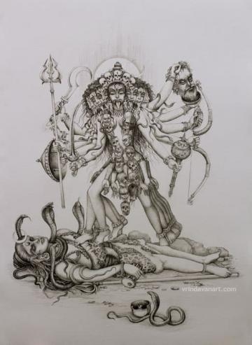 Gods and Goddesses Gallery | Vrindavan Art