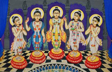 Shree Pancha Tattva-The Lord in five features